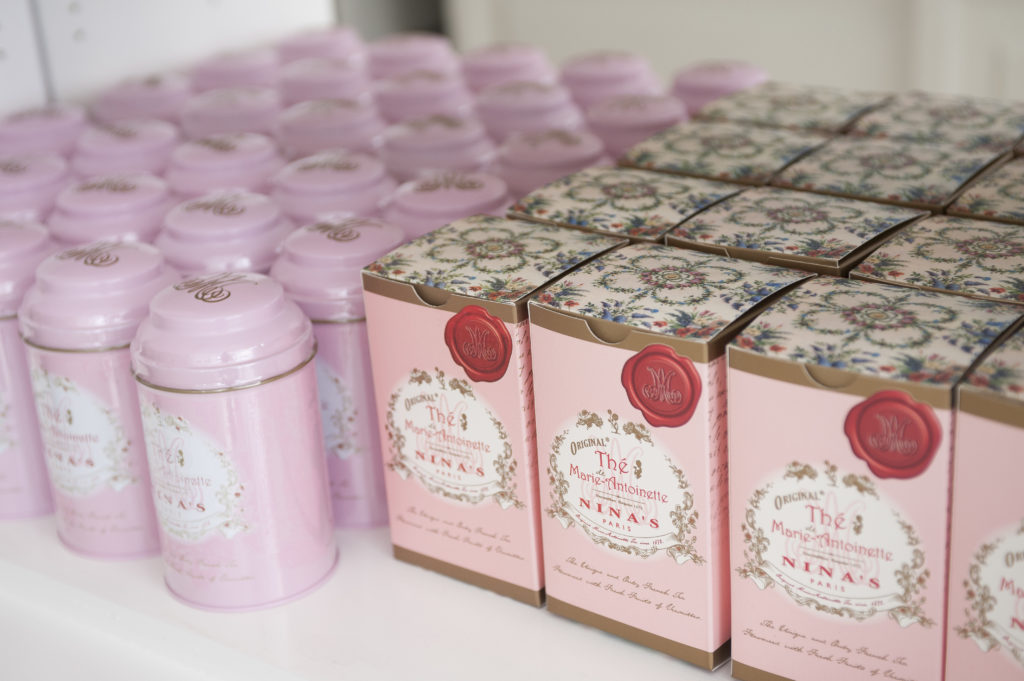 Salon thé – Thé parfumé Potager du roi Versailles