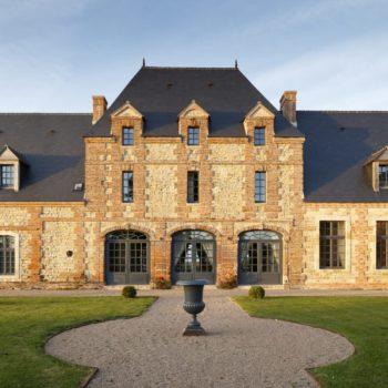 Manoir-Façade-Pierres-Patrimoine-Architecture-Décoration