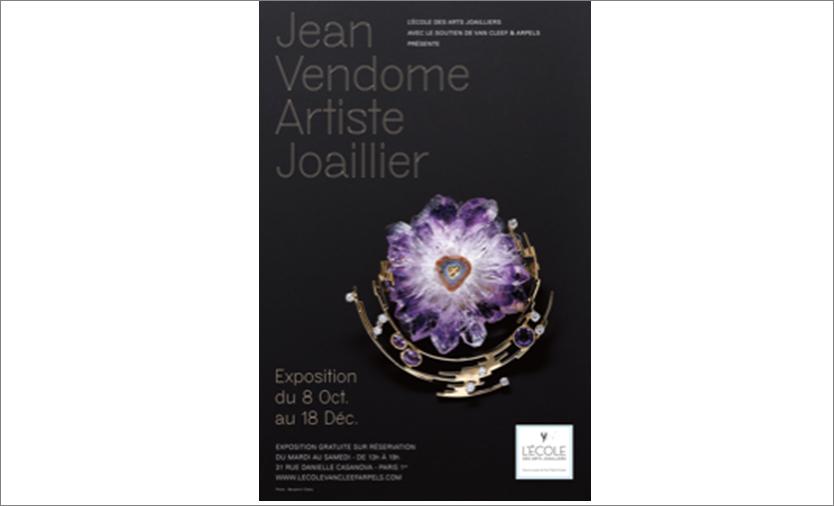 Exposition Jean Vendome, artiste joaillier